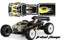 RC Body Graphics Kit Decal Sticker Wrap For Proline Bulldog MBX6-T TRIBAL Y K