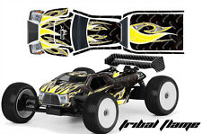 RC Body Graphics Kit Decal Sticker Wrap For Proline Bulldog MBX6-T TRIBAL Y K