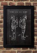 Star Wars Boba Fett Patent Art Fine Art-Print Galeriequalität A4 Kunstdruck S2