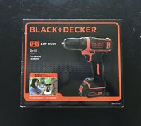 BLACK+DECKER 12-Volt MAX Lithium-Ion Cordless Drill, BDCD112C