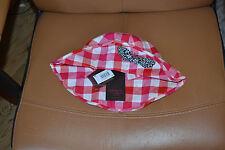 chapeaux neuf catimini rouge blanc noeud bleu blanc taille 3 PORT GRATUIT