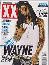 JAN/FEB 2008 XXL vintage HIP HOP - RAP - music magazine -  LIL WAYNE