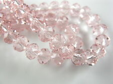 10Pcs 16mm Faceted Glass Loose Crystal Beads Spacer Rondelle bead Findings New