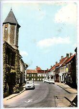 CP 62 PAS-DE-CALAIS - Licques - Rue du Bourg - La Tour ancienne