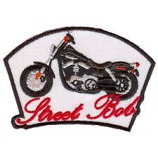 STREET BOB Biker Patch Aufnäher * NEU *