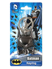 DC Comics Batman Mask Keychain NEW Pewter Keyring Accessory Toys Bruce Wayne