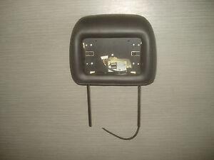 Hummer H2 Kopfstütze für Monitor 19127793 Leder Schwarz Headrest OEM Kopfstützen