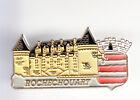 RARE PINS PIN'S .. TOURISME CHATEAU CASTLE BLASON ARM ROCHECHOUART 87 ~BU