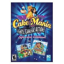 Video Game PC Cake Mania Lights Camera Action Special Edition & 3 & Main Street