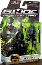 GI JOE The Rise of Cobra__City Strike SNAKE EYES 3.75 inch action figure_New_MIP
