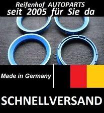 4 Zentrierringe 66,6 - 57,1 Für VW AUDI SEAT SKODA Mercedes ++ SCHNELLER VERSAND