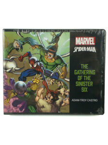 Spider-Man Gathering Of The Sinister Six Graphic Audio Book Marvel 9 Hours 9 CDs