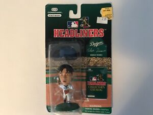 1996 Hideo Nomo Corinthian Headliners Figure Chicago Cubs Factory Sealed