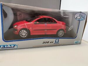 Welly 1/18 Scale Model Car PEUGEOT 206cc