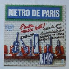 Metro de Paris DIEGO JOFFRE BERNARD CONSTANT WAYRA ATSUKO .. 340510