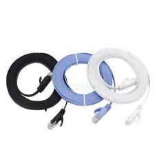 3pcs 3M CAT6 Ethernet Network LAN Cable Flat UTP Patch Router DSL Cables
