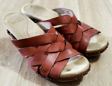 Dansko Womens Sandals Size 38 7.5-8 Tory Brown