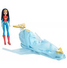 ❤️ New Wonder Woman & Invisible Jet - DC Super Hero Girls Airplane Playset Toy