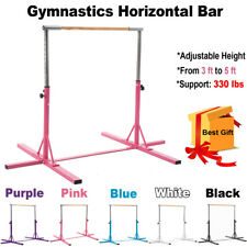 Adjustable Gymnastics Training Horizontal Bar Indoor Practice Sports Equipment