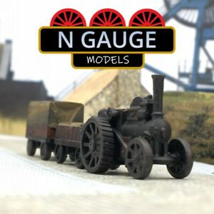N Scale Gauge 'Paddy's Road Coal' - Traction Engine1:148 Steam Locomotive 1:160