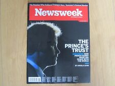 Newsweek Magazine June 2017 Prince Harry And The Prince's Trust New.