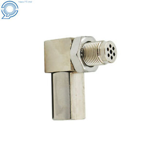 90° O2 Sensor Spacer Engine Light CEL Check Bung Mini Catalytic Converter Solid