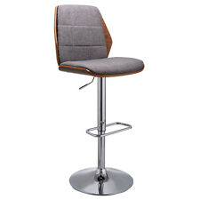 Swivel Bentwood Bar Stool Counter Height Modern Barstools Bistro Pub Chair New