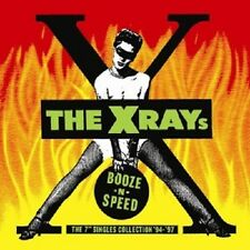 """X-rays-Booze N Speed-The 7"""" single colle CD NUOVO"""