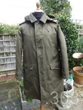 1980's Surplus Croatian Army Military Khaki Parka Coat, Liner & Hood