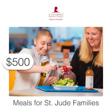 $500 Charitable Donation For: Meals for St. Jude Families