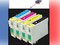 Lot cartouches d'encre compatibles epson non-oem T0711  T0712  T0713 T0714 T0715