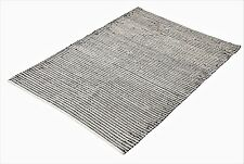 Natural Jute Dyed Cotton Flat Weave Handwoven Rug 120x180cm