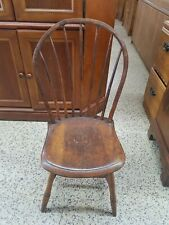 18Th Century American Diminutive Windsor Chair With Old Paint To Underside