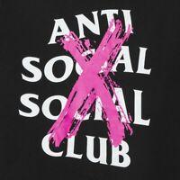 Anti Social Social Club Cancelled Black Tee 2019 ASSC T-SHIRT Authentic CLASSIC
