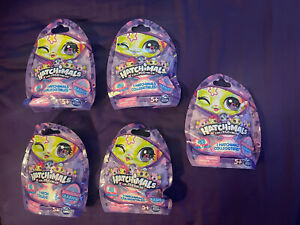 5 New Hatchimals CollEGGtibles Cute Shimmer Babies Blind Bags. Lot Of 5