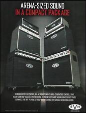 Eddie Van Halen EVH 5150 III 50W 6L6 guitar amp ad 8 x 11 advertisement print
