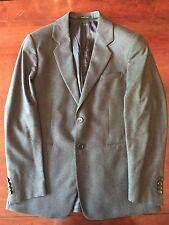 Men's Emporio Armani Grey Blazer Suit Jacket. Size 52. 100% AUTH! RRP £480!