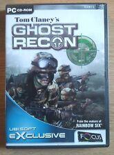 PC: GHOST RECON - TOM CLANCY'S: WINDOWS 95/98/ME/2000/XP: (2001)