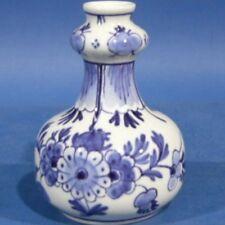 "d034: Nice 3½"" minivase Porceleijne Fles"