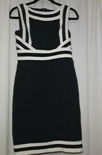 New listing Adrianna Papell Dress Size 2 Style 012253060 Black and White Geometric
