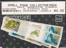 Australia 1999 Small Pond Sealed Collector Pack 8 Stamps + 3 Message Labels