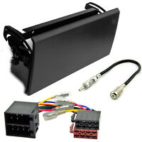 Radioblende für Citroen Berlingo bis 2005 ISO Adapter Kabel DIN Einbaurahmen