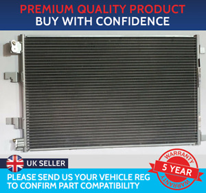 CONDENSER AIR CON RADIATOR TO FIT NISSAN QASHQAI J10 2007 TO 2013 1.6 dCi DIESEL