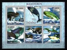 Saint Thomas et prince 2010 baleines feuillet n° 3461 à 3465 neuf ** 1er choix