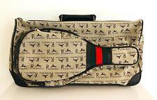 Vtg Faux Gucci Racquetball Carrying Case Leach Princess Racquet & AMF Voit Balls