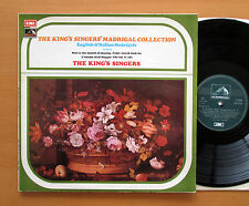 CSD 3756 The King's Singers Madrigal Collection 1974 EMI Stereo + insert EX/EX