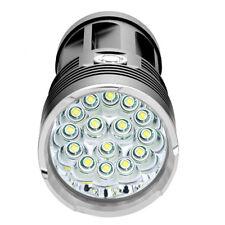 50000Lm Lúmenes Linterna LED Mano XM-L 15led T6 Senderismo Camping Ligero