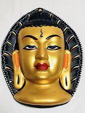 Sakyamuni Buddha Wall Hanging Decor Gold Mask