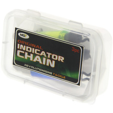 Ngt 3 x Carp Fishing Chain Bite Indicators Bobbin Swingers drop offs SENT IN BOX