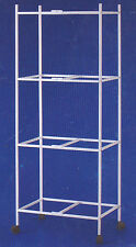 """4 Tiers Rolling Stand for 24""""x16""""x16&#034 ; Aviary Bird Cages - 4134-262"""